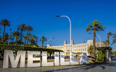 Nueva instalación de luminaria Roma y proyectores Stadium en Melilla
