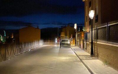 Nueva instalación de luminarias Roma y Villaled en San Cristóbal de Segovia